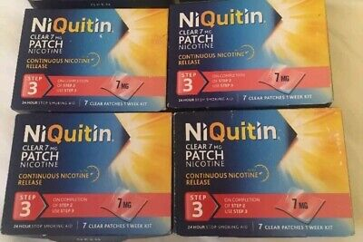 niquitin Patches Step 3 7mg x 28 Patches Only £31.99