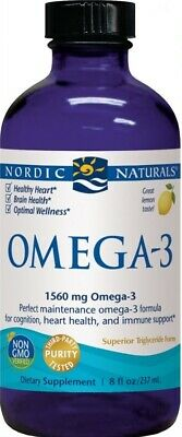 Omega-3, 1560mg Lemon - 237 ml.