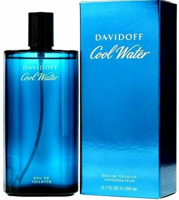 COOL WATER By DAVIDOFF Cologne Perfume For Men 6.7 - 4.2 oz EDT Spray NEW IN BOX
