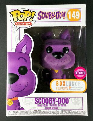 Funko Pop Animation Scooby-Doo! 149 Purple Flocked Box Lunch Exclusive - IN HAND