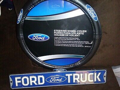 Plasticolor Ford Oval Style Premium Speed Grip Steering Wheel Cover 006452R01