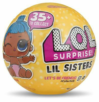 New LOL Surprise Confetti Pop Lil Little Sister Doll Ball Series 3 Wave 1