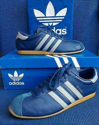 VTG 2002 adidas REKORD retro navy Italia Vienna originals...uk size 9