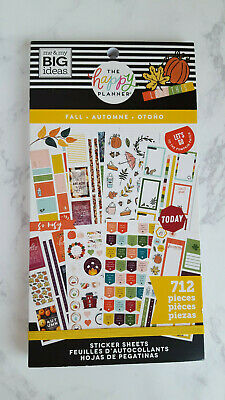 Fall 712 sticker book by The Happy Planner MAMBI