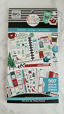 Winter 907 sticker book by The Happy Planner MAMBI