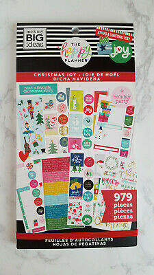 Christmas Joy 979 sticker book by The Happy Planner MAMBI