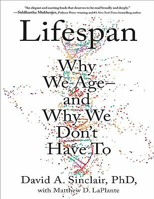 Lifespan: Why We Age―and.. by David A. Sinclair ✖ See Condition 📚