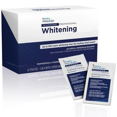 Crestsupreme Professional Teeth Whitening Whitestrips 10-28 Strips 5-14 Pouch