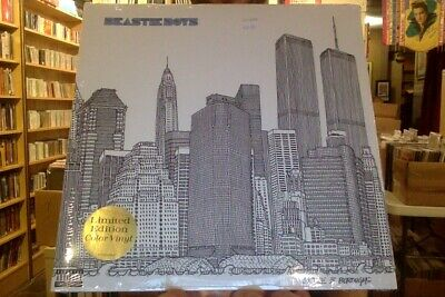 Beastie Boys To the 5 Boroughs 2xLP sealed blue colored vinyl reissue
