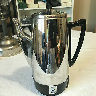 Presto 02811 12 Cup Stainless Steel Coffee Maker USED