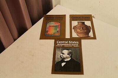 2013 CENTRAL STATES ARCHAEOLOGICAL JOURNAL 3 Issues
