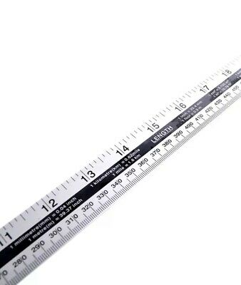 """METRIC 100cm //36/"""" SEWING SEW EASY WOODEN METRE RULER STICK IMPERIAL"""