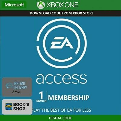 EA Access 1 Month Membership (Xbox One) 🔥 Global 🔥 24/7 Automatic Delivery