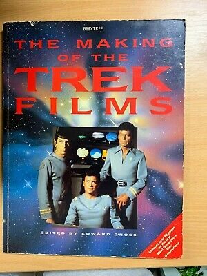 "1995 Star Trek ""The Making Of The Excursión Películas ""Grande Illustrated Libro"