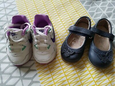 2 pair of Baby Girls Shoes Branded Nike And Next  Neay Shoes Size 3
