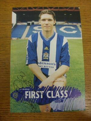 c 1990/00's Autograph(s): Stockport County - Colin Woodthorpe [Hand Signed Colou