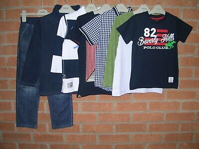 Mainly NEXT Boys Bundle Tops T-Shirts Jeans Jumpers Age 5-6 116cm