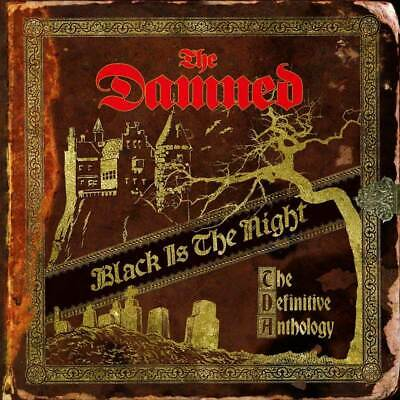 The Damned - Black Is The Night (NEW 2 x CD) (Preorder Out 1st Nov)