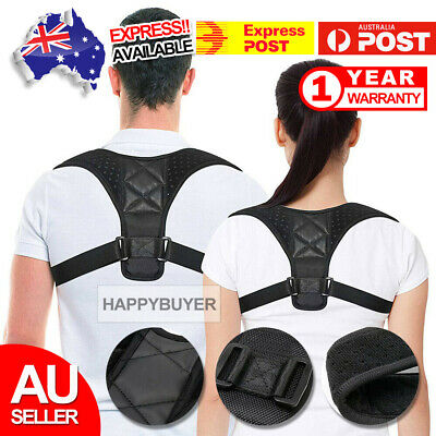Adjustable Posture Clavicle Support Corrector Back Straight Shoulder Brace Strap