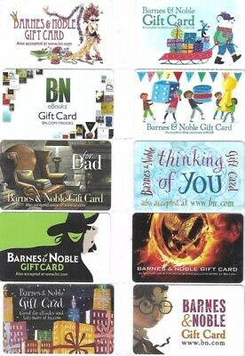 50 Different Gift Cards   T10-1   Barnes & Noble