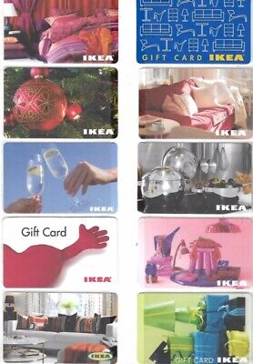 10 Different Gift Cards   T10-8   Ikea