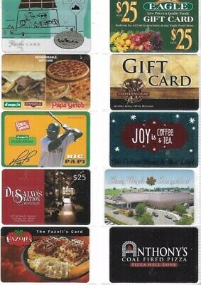 10 Different Food-Related Gift Cards   T10-9