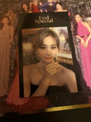TWICE - 8th MINI ALBUM FEEL SPECIAL PHOTO CARD Kpop Tzuyu