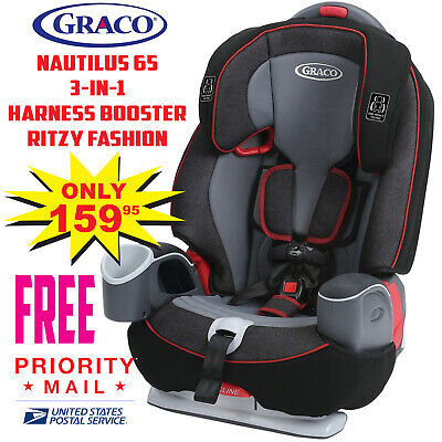 Graco Nautilus 65 3-in-1 Harness Booster Car Seat with Safety Surround - Jacks