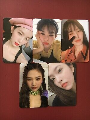 Red Velvet The Reve Festival Day 1 Kihno Photocard Irene Seulgi Wendy Joy Yeri