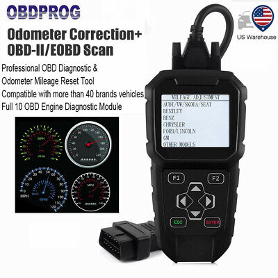 OBD2 Mileage Correction Odometer Adjustment Diagnostic Tool Engine Code Reader