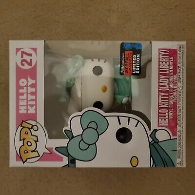 MINT Funko POP HELLO KITTY LADY LIBERTY NYCC FALL SHARED EXCL.+PROTECTOR IN HAND