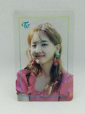 TWICE POPUP STORE Twaii's Shop Seoul Official Goods Nayeon Transparent Photocard
