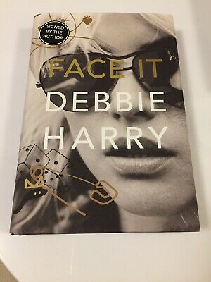 Debbie Harry Face It Signed Autographed Biography Preorder Blondie