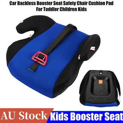 Car Backless Booster Seat Safety Chair Cushion Pad For Toddler Children Kid NEW