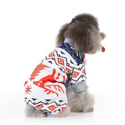 Puppy Pet Dog Cat Clothes Hoodie Winter Warm Sweater Coat Costume Apparel