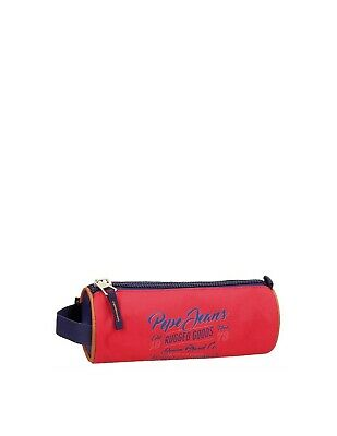 Pepe Jeans - Trousse Jake Pepe Jeans ref_ser41457 rouge - Neuf