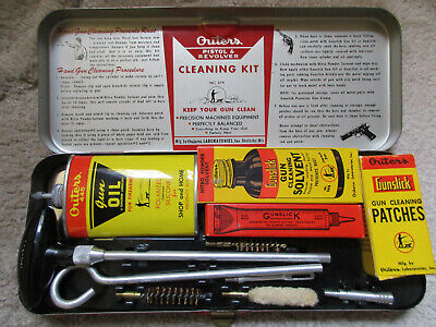 Vintage Outers Pistol & Revolver Cleaning Kit