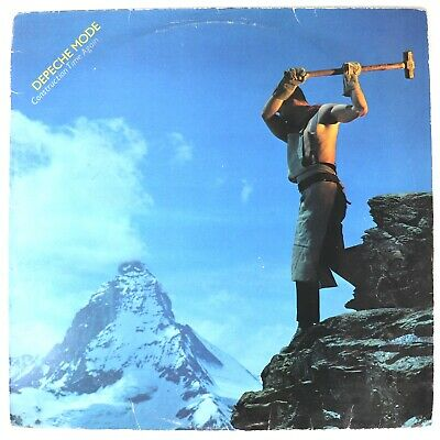 Depeche Mode - Construction Time Again - Mute Records (STUMM 13) Vinyl LP Album