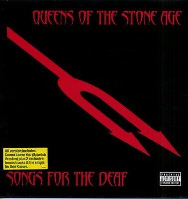 Queens Of The Stone Age - Songs For The Deaf - Eu Version -2Lp - Red Vinyl