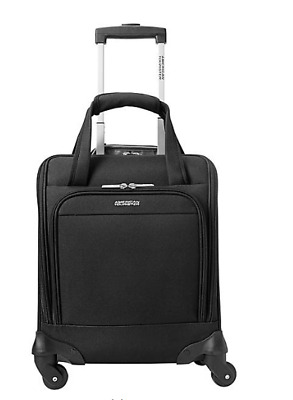 "American Tourister Lynnwood 16"" Underseat Spinner Carry-On Black"