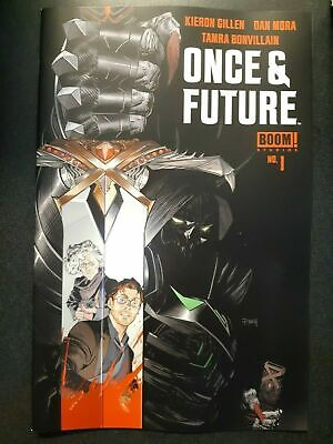 ONCE AND FUTURE #1 Boom First Print Hot New Comic Book Kieron Gillen