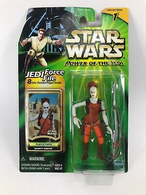Star Wars Power Of The Jedi Aurra Sing Hasbro Toys Action Figure New Unopened