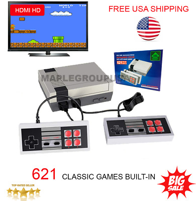 621 Games Built-in Mini Classic HDMI Game Console Gaming Entertainment Gift