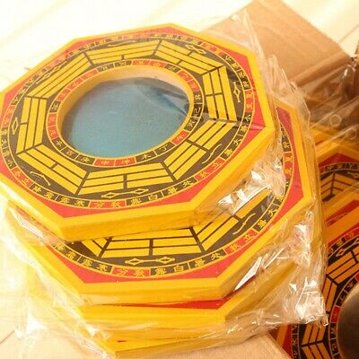 1PC Chinese Feng Shui Dent Convex Bagua Mirror House Protection Lucky Blessing