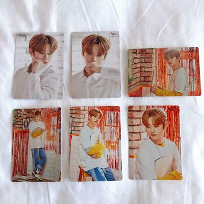 Stray Kids  UNVEIL TOUR I am japan Official mini photocard set  Min Ho Jin 6set