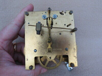 Vintage Enfield Striking Clock Movement And Hands