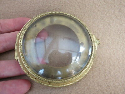 Antique French Clock Bezel And Glass  (Lot 1)