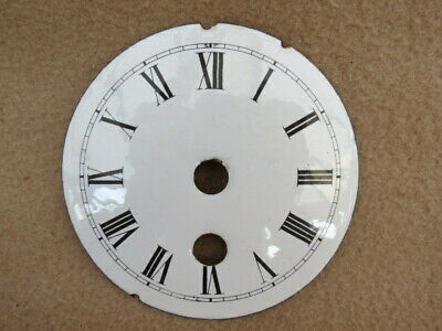 Antique White Enamel Clock Dial  (Lot 3)