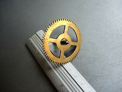 ANTIQUE German Wall Clock PARTS gears JUNGHANS B09 MOVEMENT Gustav Becker GB e