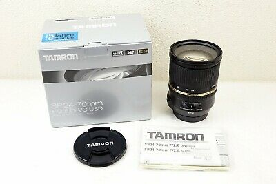 TAMRON SP 24-70mm f2.8 Di VC USD ZOOM LENS - CANON - SPARES / REPAIR / FAULTY